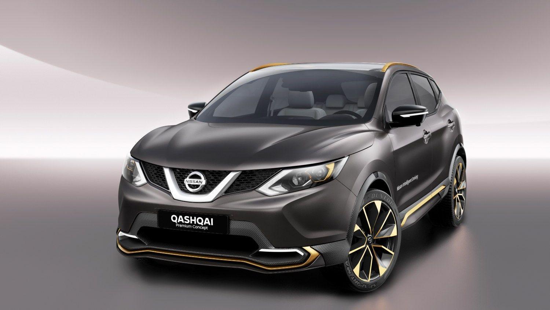 """Ženevos parodoje """"Nissan"""" parodė krosoverio """"Qashqai"""" koncepciją ir patikino, kad kitąmet šis modelis galės važiuoti be vairuotojo įsikišimo. Gamintojo nuotr."""