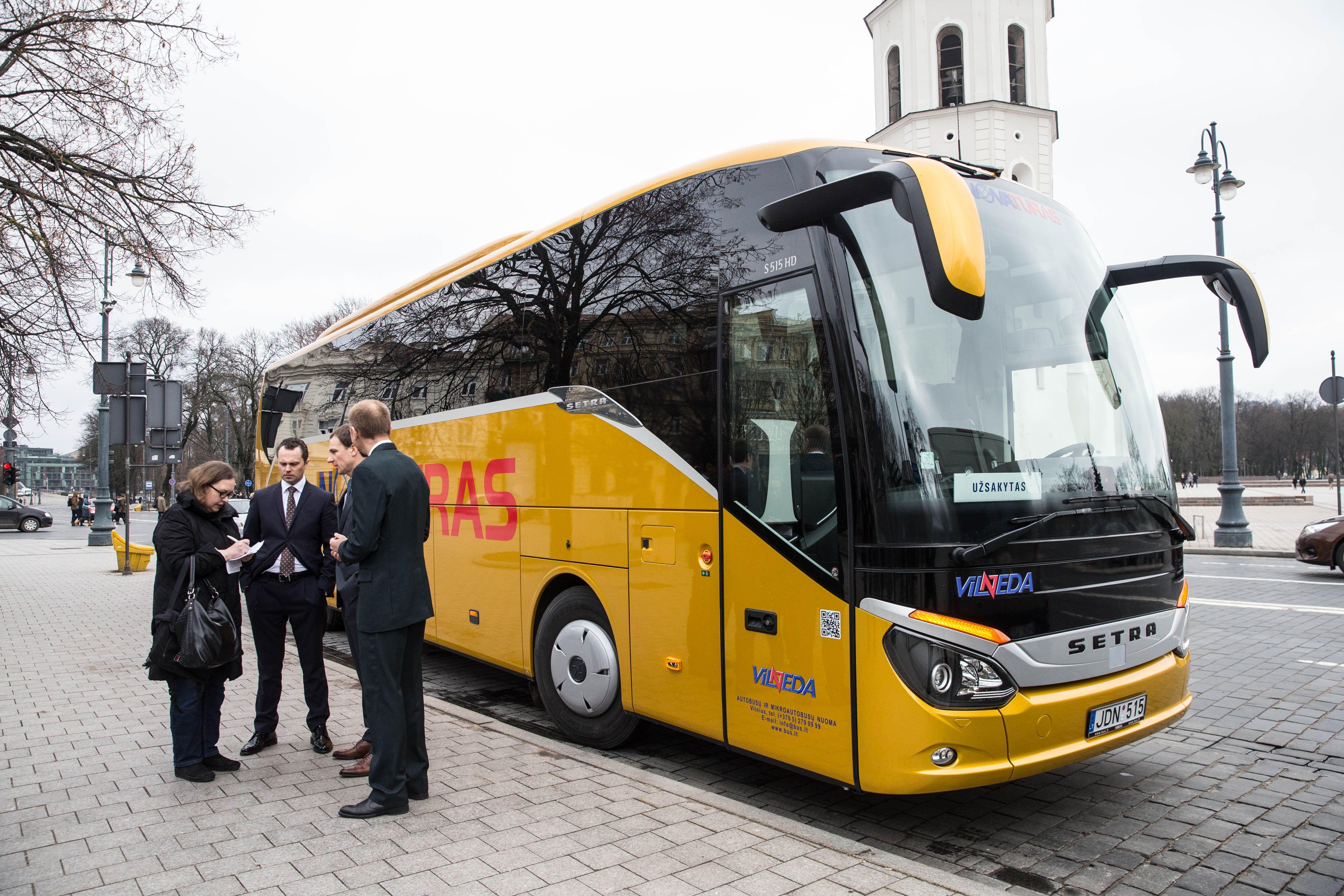 Turistus Lietuvoje persodins į naujus autobusus