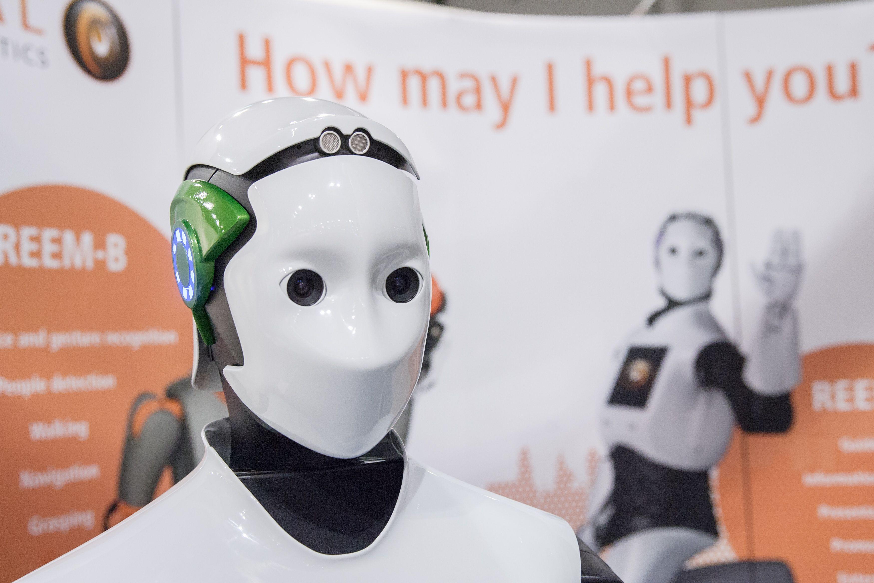 Už durų–robotas