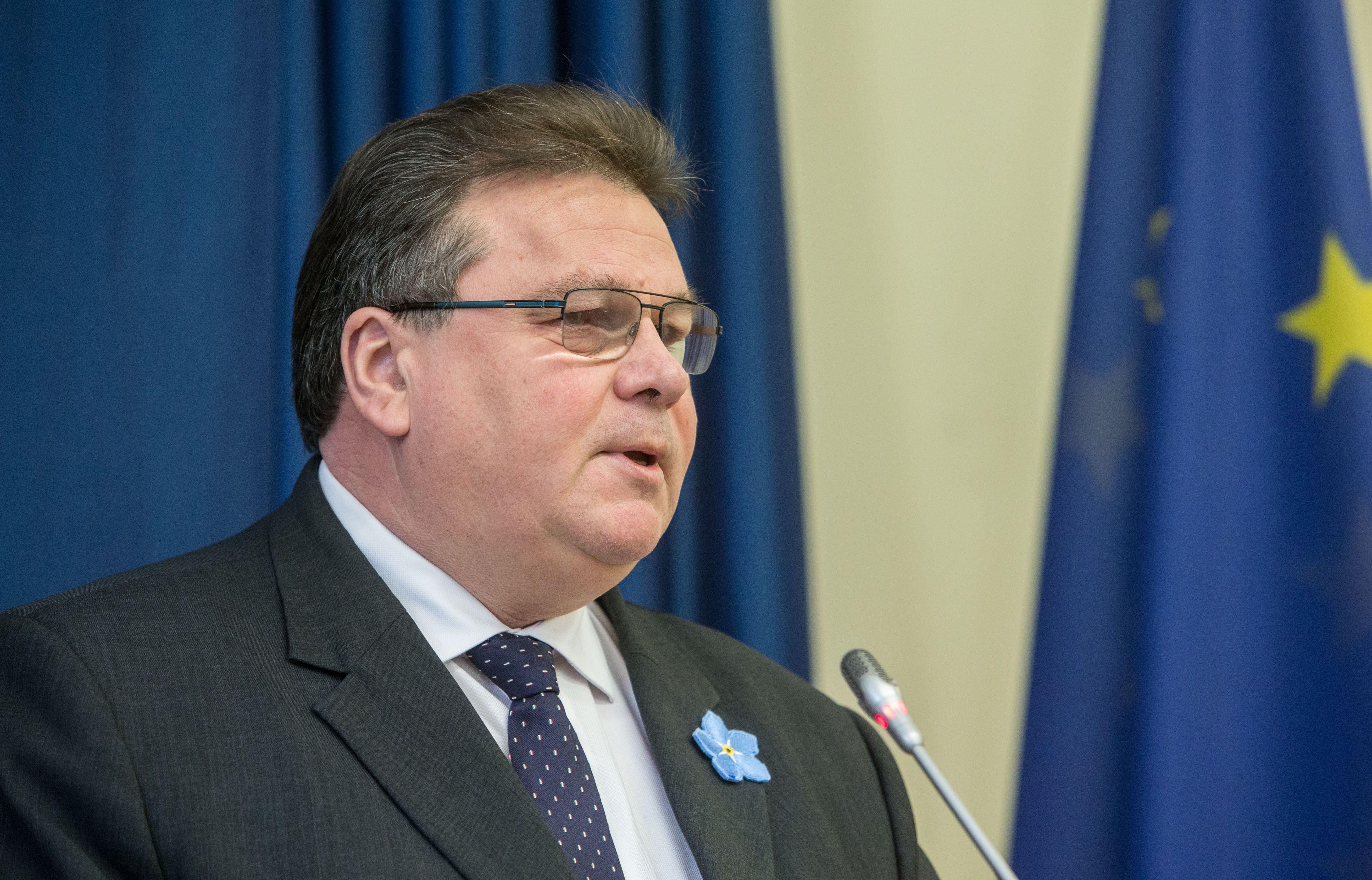 Linkevičius: ES dialogas su Rusija – tik įvertinus Maskvos elgesį