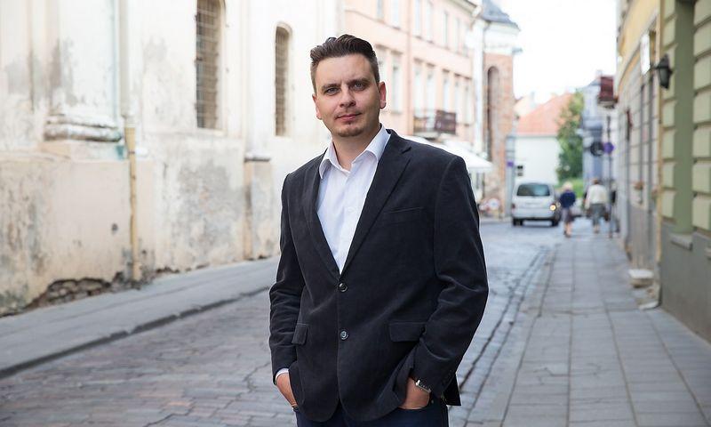 """Marketingo specialistas Rytis Buračas tapo """"Dealoyal"""" komandos nariu. JUDITOS GRIGELYTĖS (VŽ) NUOTR."""