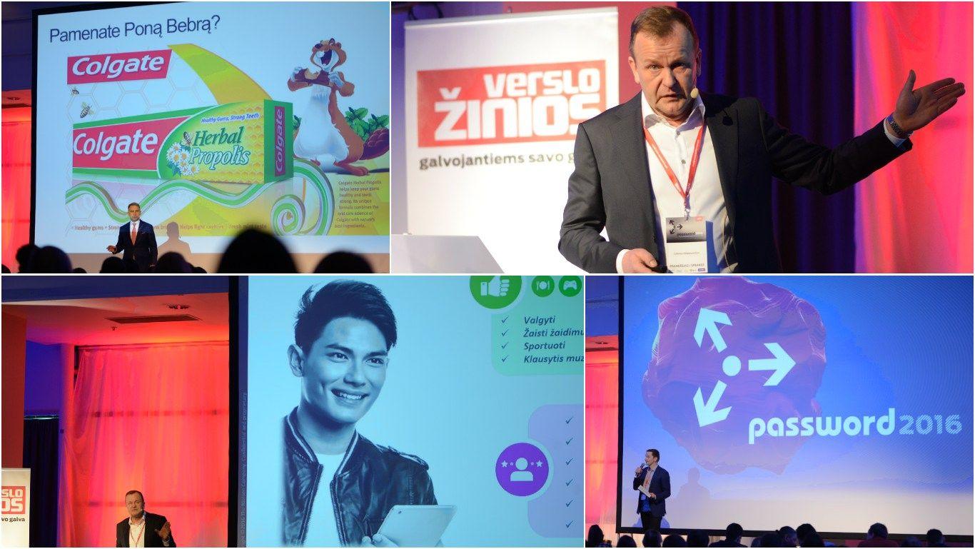 """""""Password 2016"""": patirtimi dalijasi rinkodaros profesionalai"""