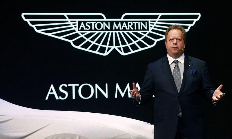 """Andy Palmeris, """"Aston Martin"""" vadovas. Arndo Wiegmanno (""""Reuters"""" / """"Scanpix"""") nuotr."""