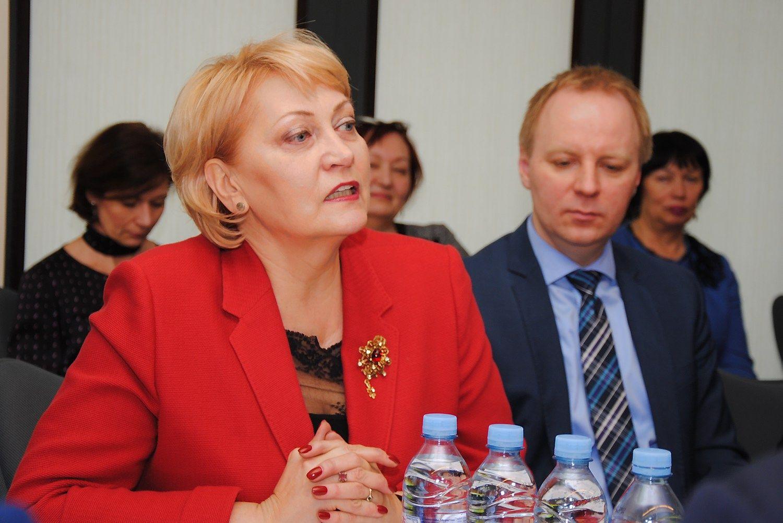 Rasa Budbergyt�, Lietuvos atstov� Europos audito r�muose. Valstyb�s kontrol�s nuotr.