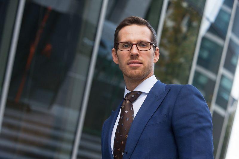 Laurynas Vilimas, Lietuvos prekybos įmonių asociacijos vykdomasis direktorius. Juditos Grigelytės (VŽ) nuotr.