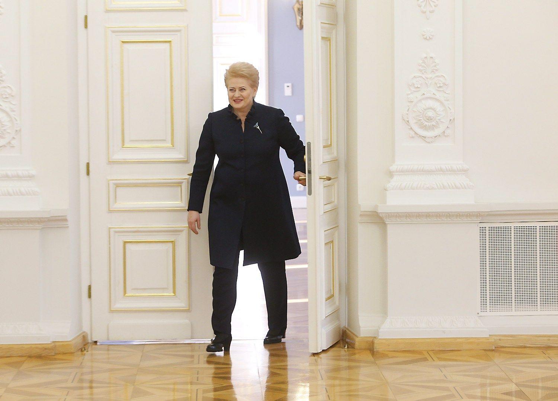 Prezidentė: Lietuva stringa reformų nevykdymo procese