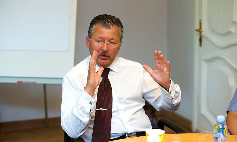 Gintaras Bertašius, AB Vilkyškių pieninė generalinis direktorius. Vladimiro Ivanovo (VŽ) nuotr.