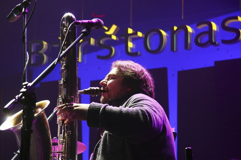 Liudas Mockūnas, vadinamas vienu įdomiausių šalies džiazo atlikėjų, ko gero, yra dažniausiai Birštono festivalio scenoje grojantis muzikantas.  Kazio Lazausko/Birštono džiazo festivalio nuotr.
