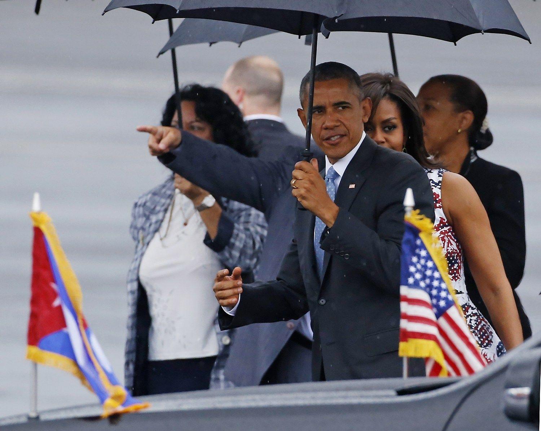 Naujos eros pradžia: Obama atvyko į Kubą