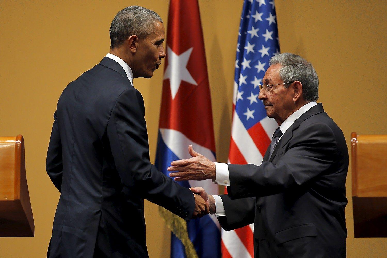 Nauja era, sena įtampa: Obama ir Castro nesutarė dėl žmogaus teisių