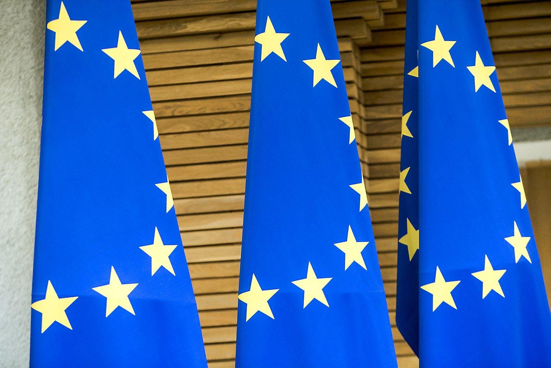 Nuo �iol ne Bendrijos, o ES prek�s �enklas