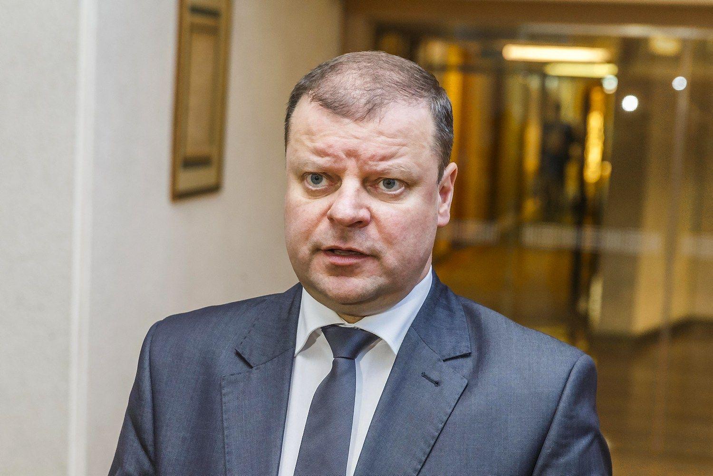 Skvernelis į Seimą kandidatuos su Karbauskio partija