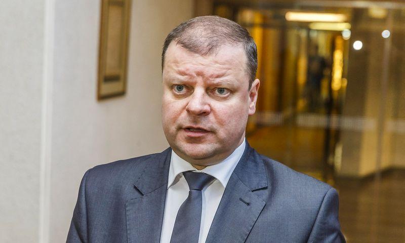 Saulius Skvernelis, vidaus reikalų ministras. Vladimiro Ivanovo (VŽ) nuior.