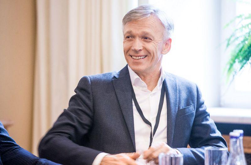 """Arvydas Avulis, nekilnojamojo turto AB """"Hanner"""" valdybos pirmininkas. Juditos Grigelytės (VŽ) nuotr"""