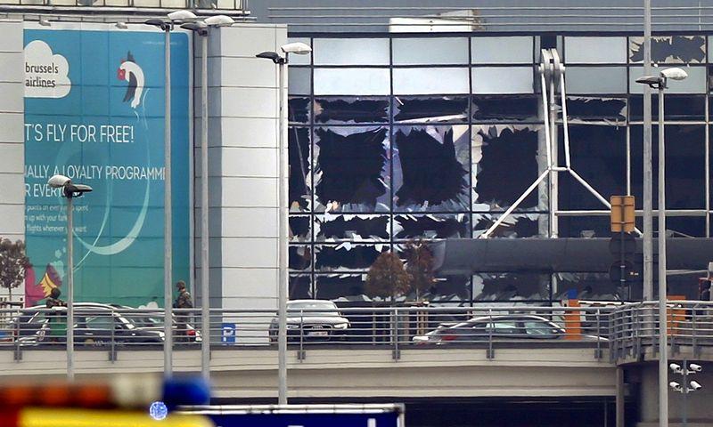 Briuselio oro uostas uždarytas mažiausiai iki antradienio