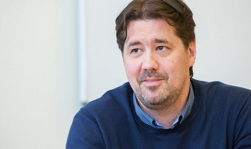 """Tomas Milaknis, IT sprendimų UAB """"Alna Group"""" generalinis direktorius. Juditos Grigelytės (VŽ) nuotr."""