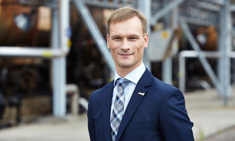 """Marius Pulkauninkas, AB Klaipėdos nafta Finansų ir administravimo departamento direktorius: """"Naftos terminalo uždirbamas pelnas ir pinigų srautai rodo, kad bendrovė sėkmingai konkuruoja naftos produktų rinkoje ir efektyviai atlieka perkrovą."""" Bendrovės nuotr."""