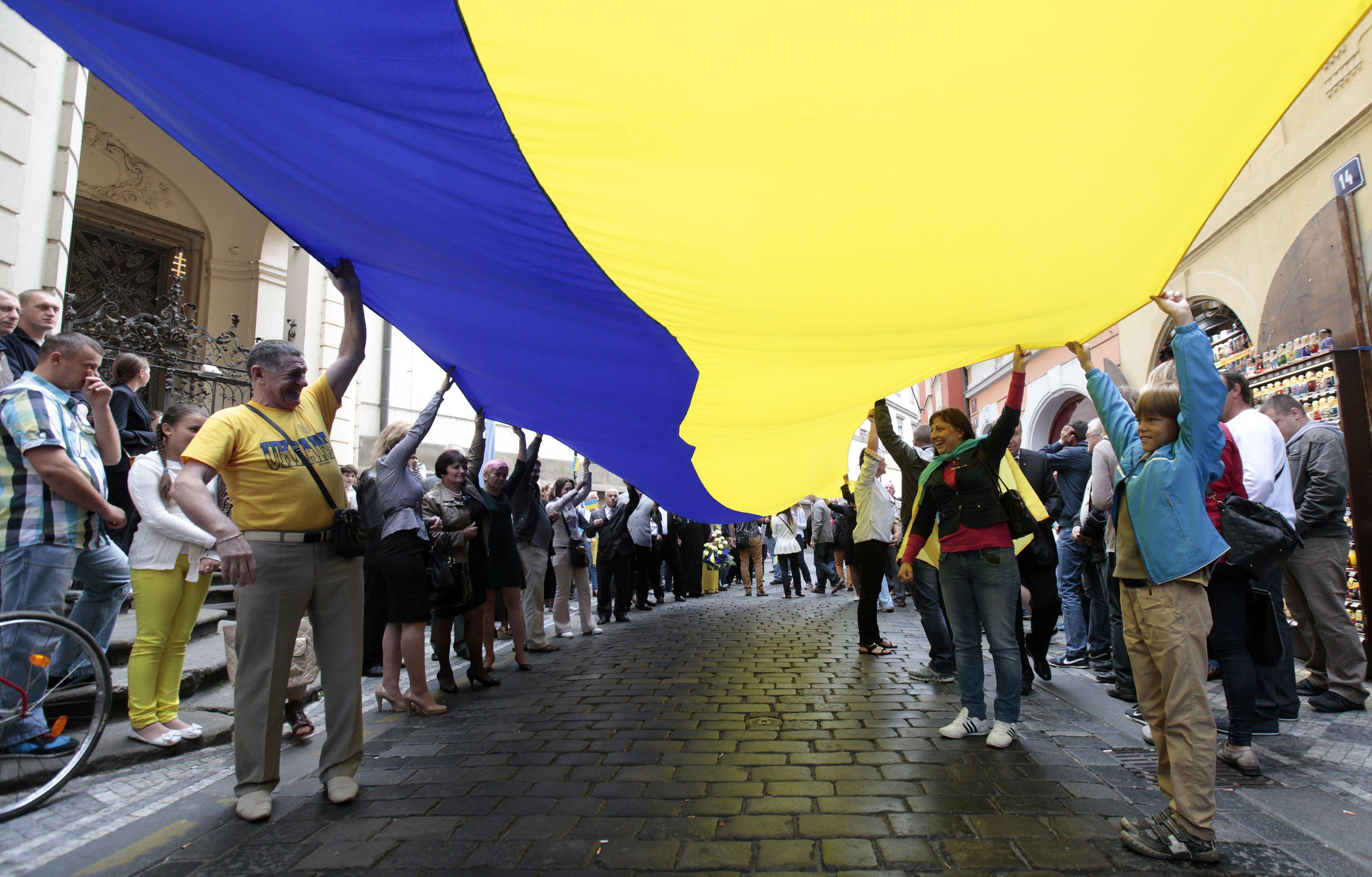 Kuo svarbus olandų referendumas dėl Ukrainos