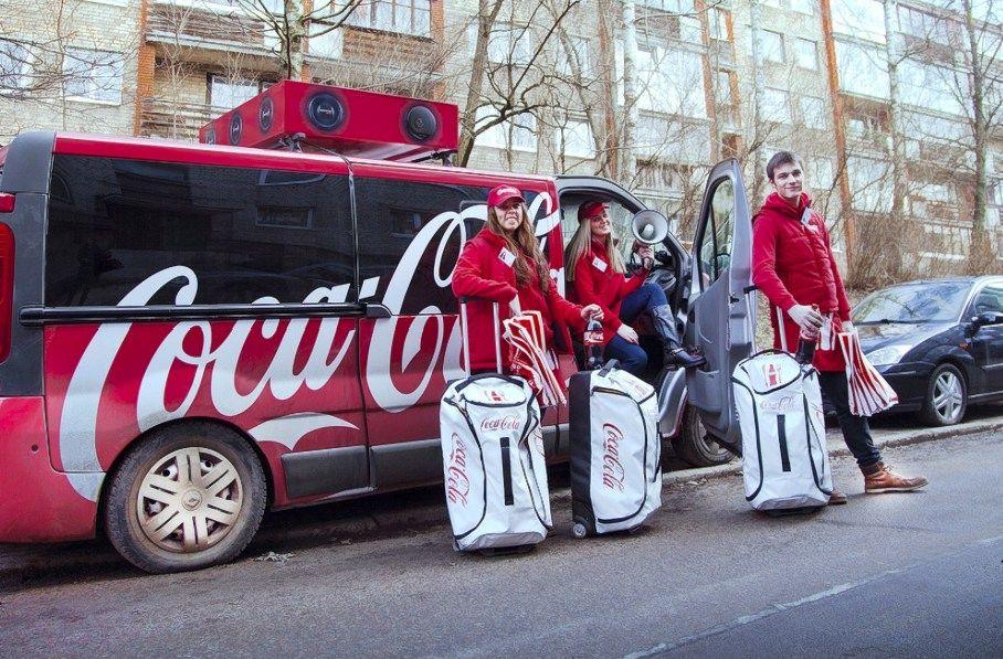 �Coca-Cola� v�l imasi netradicini� rinkodaros sprendim�