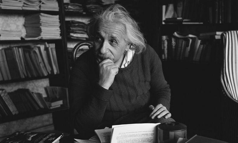 """Albertas Einsteinas sakė, kad svarbiausia yra suformuluoti klausimą. """"Wikipedios"""" nuotr."""