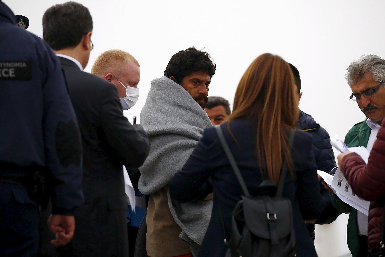 Penktadienį iš Graikijos į Turkiją išplukdoma 140 migrantų