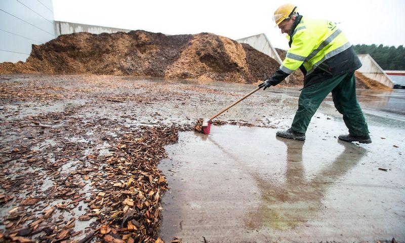 Įvykdžius pirmą rekonstrukcijos etapą, iki 80% šilumos Jurbarko katilinėje bus pagaminama iš biokuro. Juditos Grigelytės (VŽ ) nuotr.