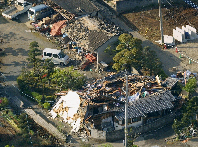 Japonijoje – du nauji stiprūs žemės drebėjimai