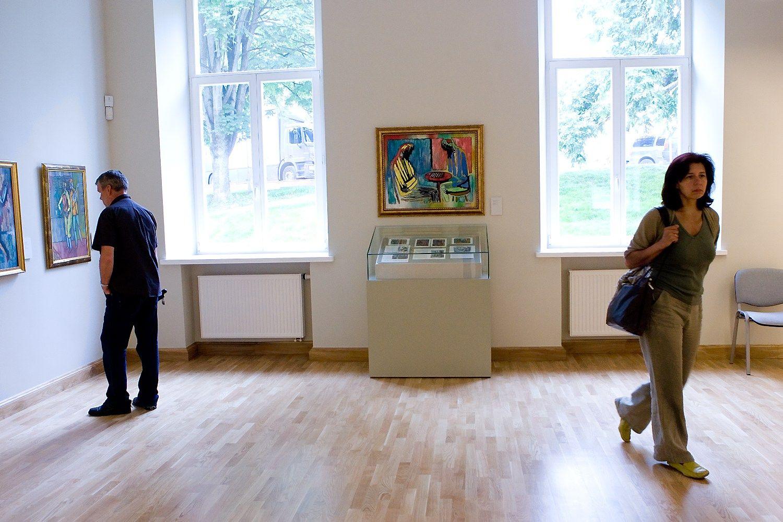 K� veikti meno muziejuje