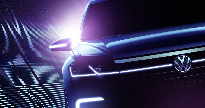 �Volkswagen� parodoje Pekine parodys nauj� hibridin� visureig�