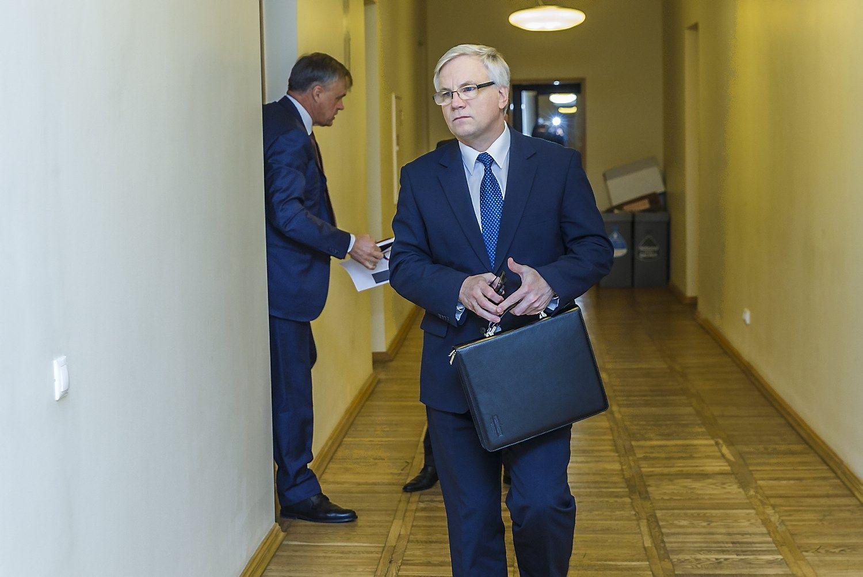 Finansų ministro pakeitimas atidedamas bent mėnesiui