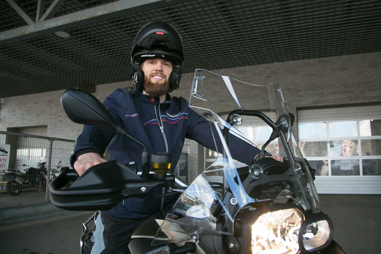 Lietuvis žada motociklu apvažiuoti visą pasaulį