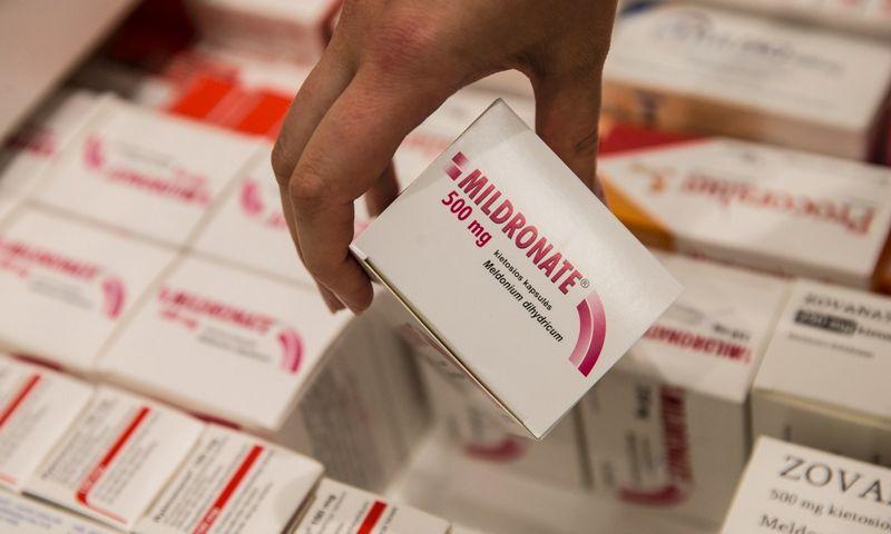 Meldoniumas – generinis vaistas, prieš 40 metų sukurtas Latvijoje.  Juditos Grigelytės (VŽ) nuotr.