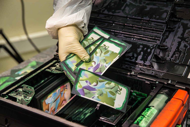 Saugumo sistema: kaip SEB bankomatai gadina banknotus