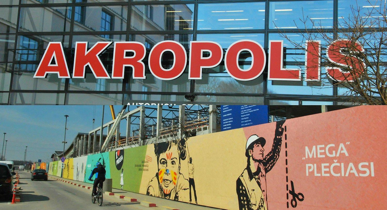 """Kauno prekybos centrai: """"Akropolio"""" lankytojų daugėja, """"Megoje"""" – stabilu"""