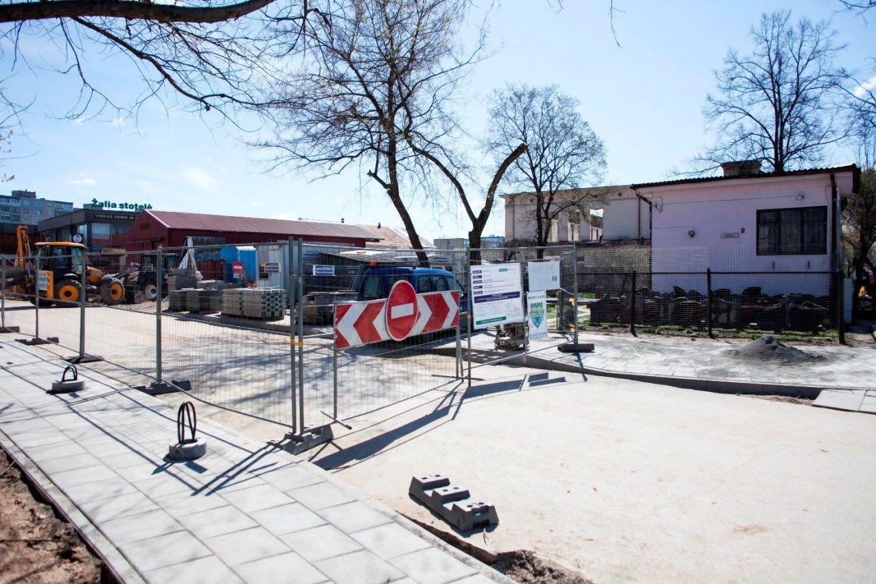 Prasid�jo tre�iasis Vilniaus Kalvarij� turgaus rekonstrukcijos etapas