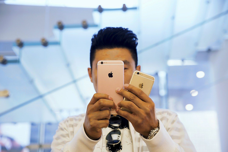 �i�nakt �Apple� rezultatai: laukiama �iPhone� pardavim� ma��jimo