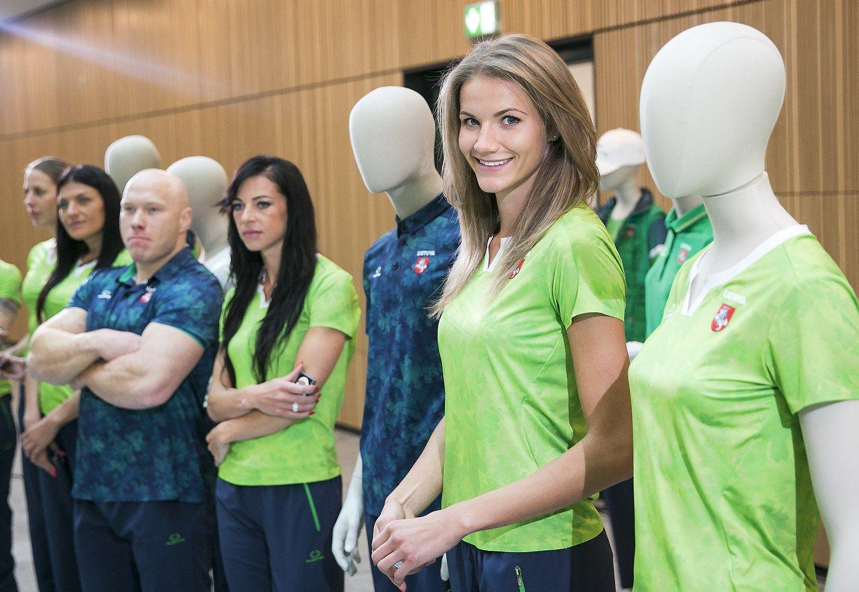 Pristatyta olimpin�s rinktin�s aprangos kolekcija