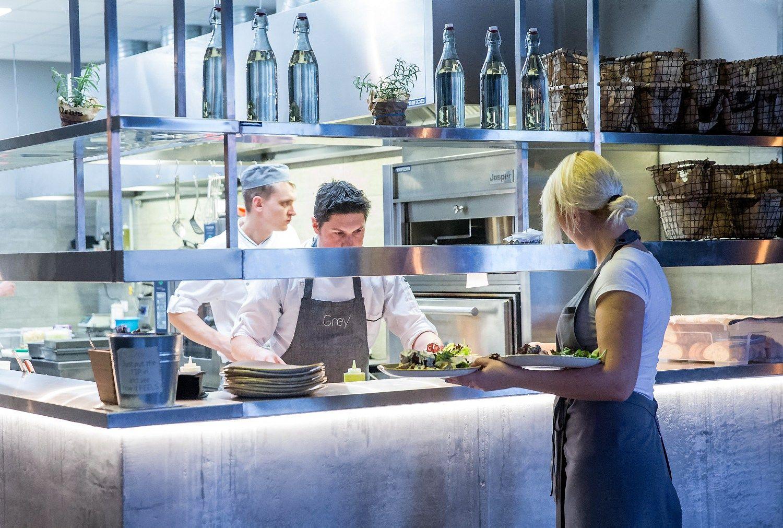 Restoran� ir kavini� apyvarta per metus pasistieb� 7%