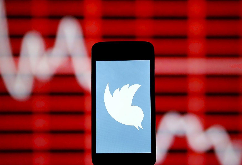 """""""Twitter"""" vartotojų skaičius ir pajamos nuvylė"""