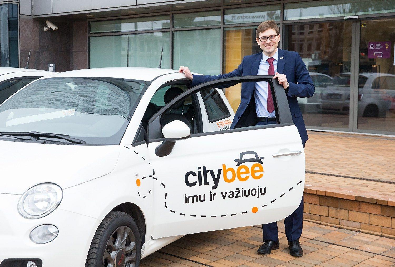 �CityBee� i�sipl�t� � miegamuosius rajonus