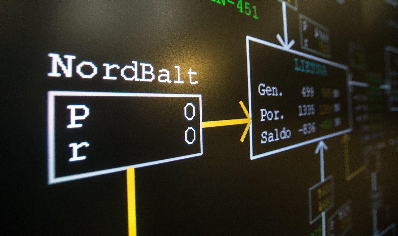 Atnaujinta �NordBalt� veikla, kol kas ne pilnu paj�gumu