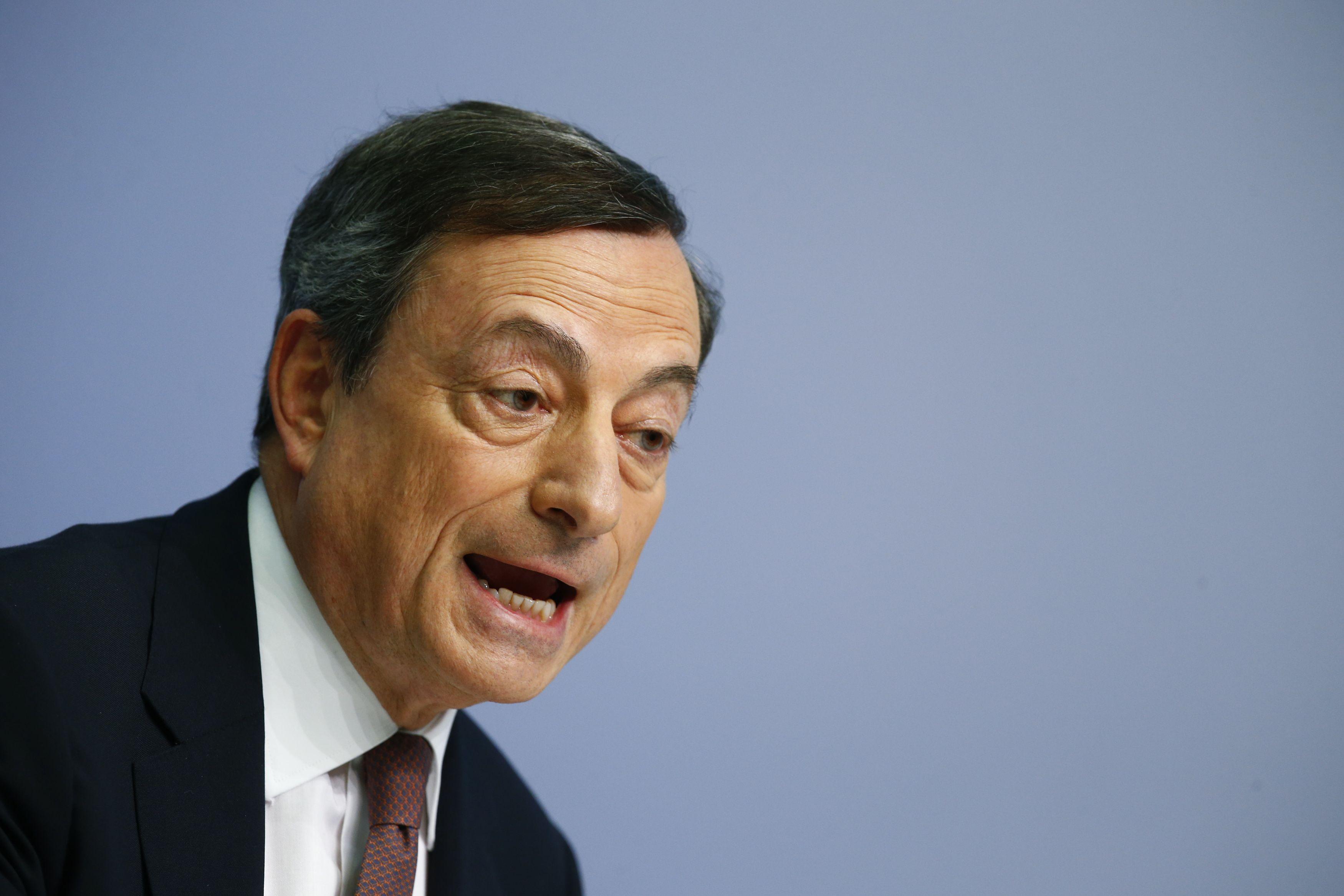 Draghi si�lo nekonservuoti pinig� s�skaitose