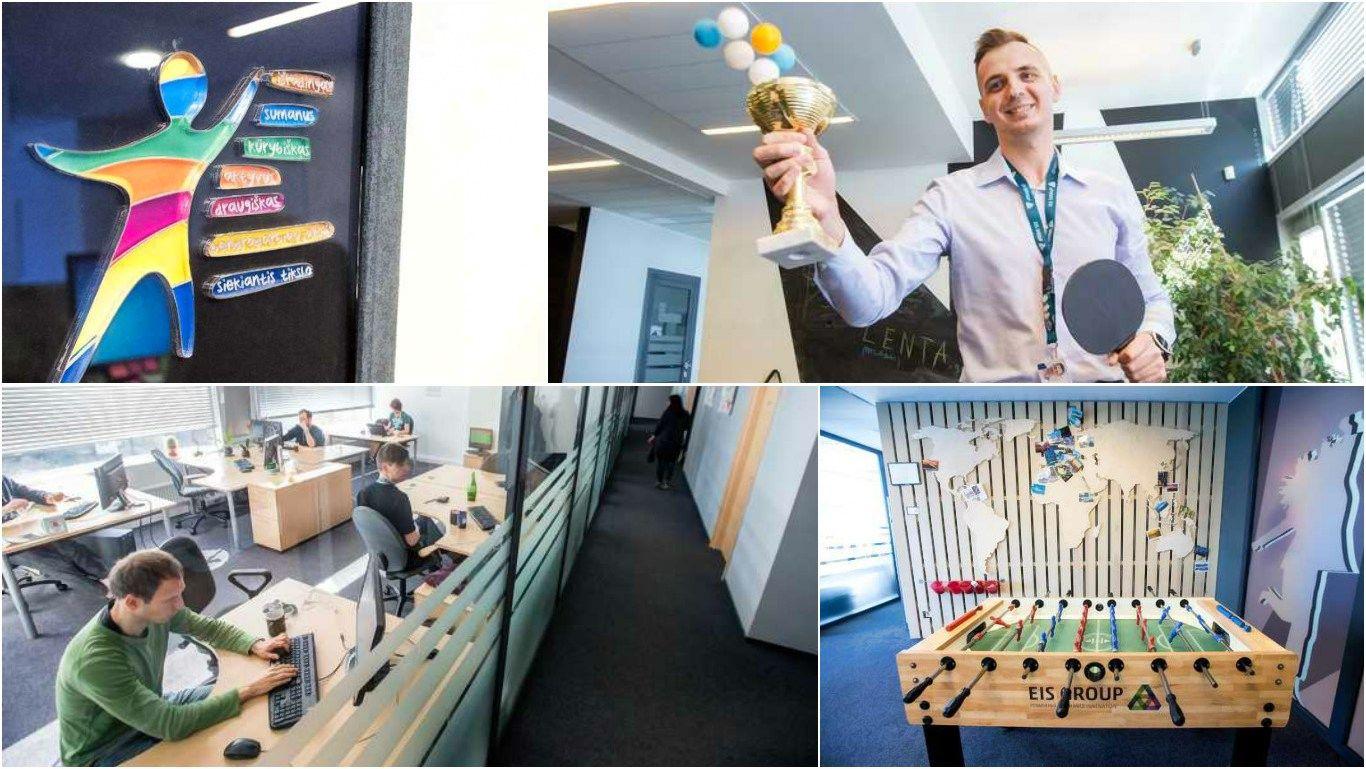 Pirmosios darbo dienos �EIS Group�: be adaptacijos plano � n� �ingsnio