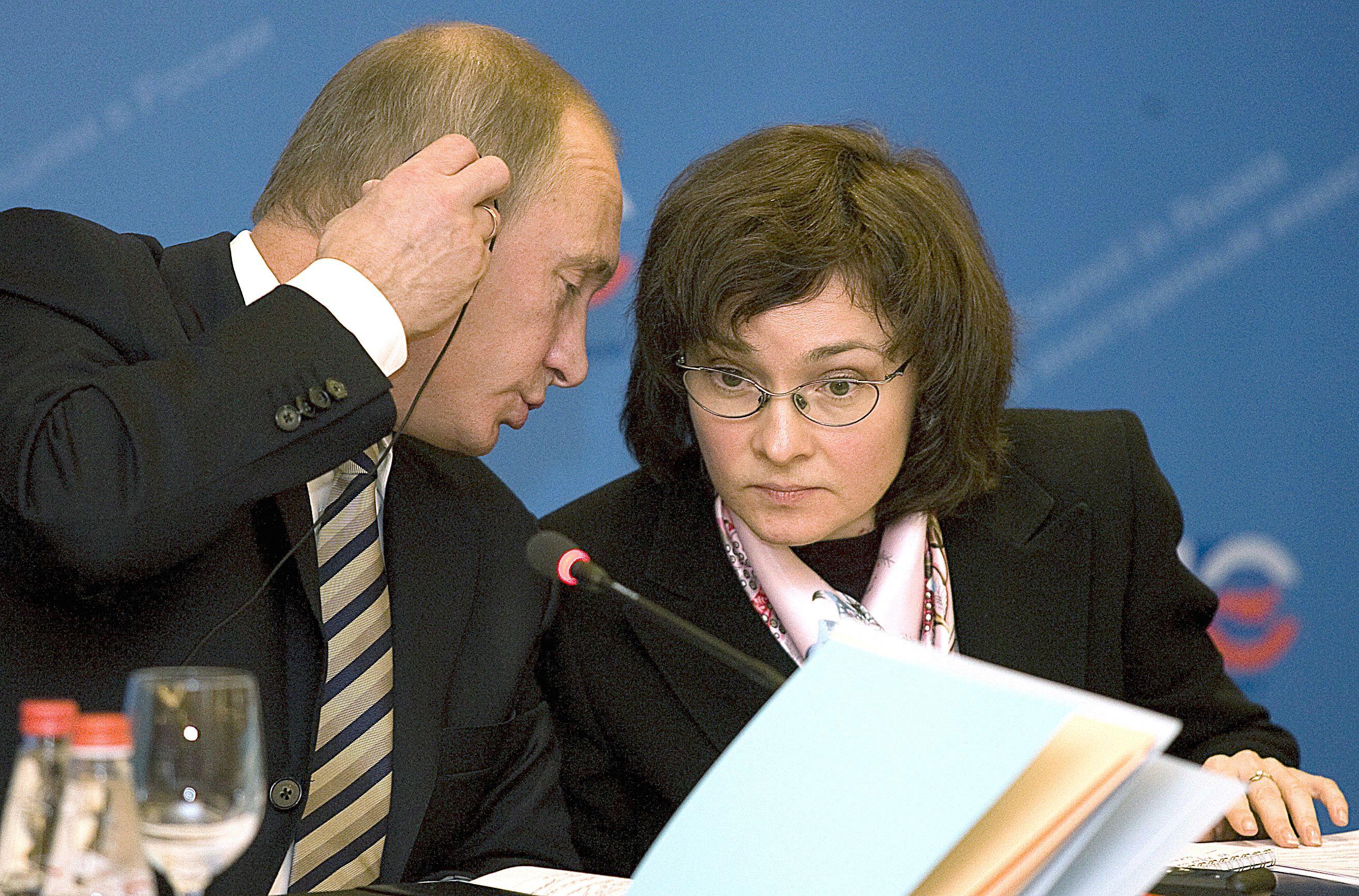 Rusijos finans� sektorius stabilizuojasi: ne be moters pagalbos