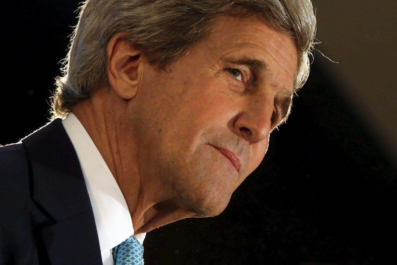 Kerry: pad�tis Sirijoje v�l nekontroliuojama
