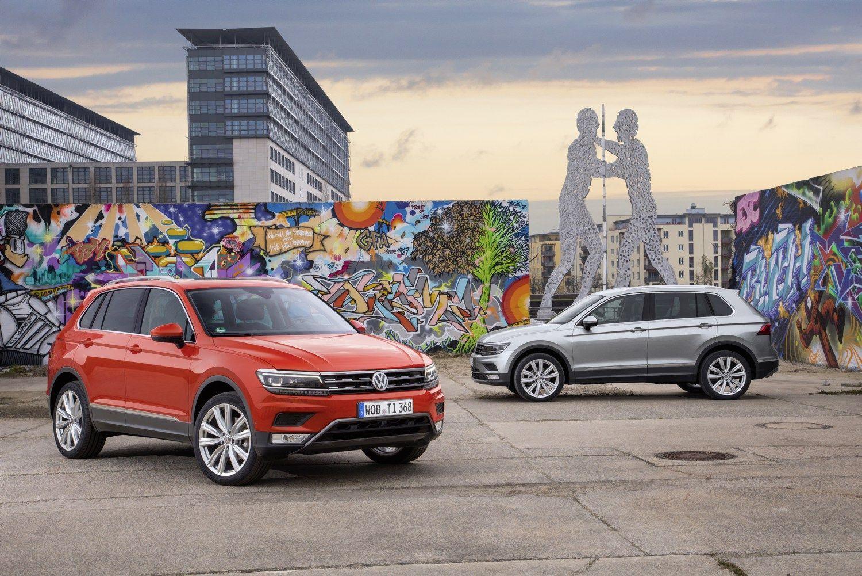 V� bando �Volkswagen Tiguan�: ant �aligatvi� si�lo rop�tis mink�tai