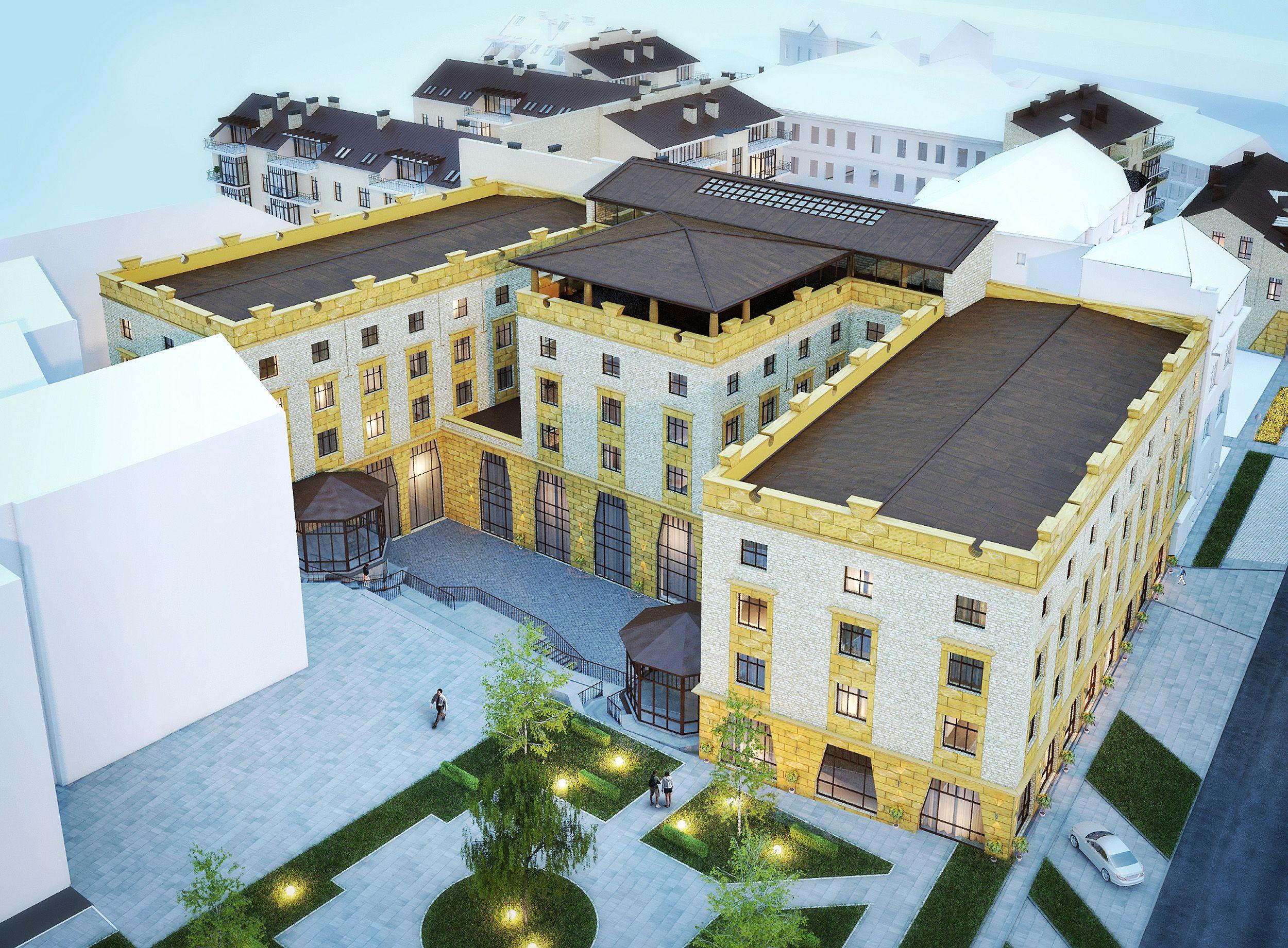 Investicinis projektas Vilniaus senamiestyje �Radvil� valda� � jau �Vastint� nuosavyb�