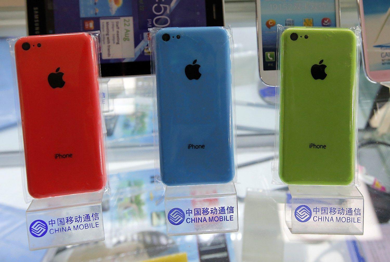 �Apple� Kinijoje pralaim�jo kov� d�l prek�s �enklo