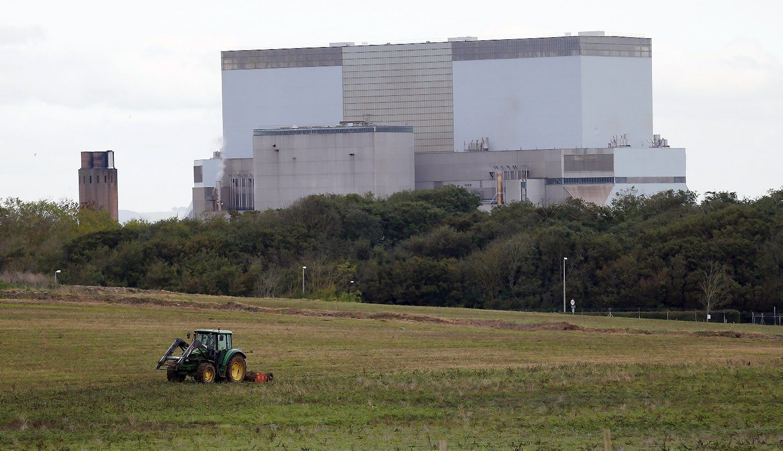Brit� atomin�s�j�gain�s projektas u�plauk� ant uol�