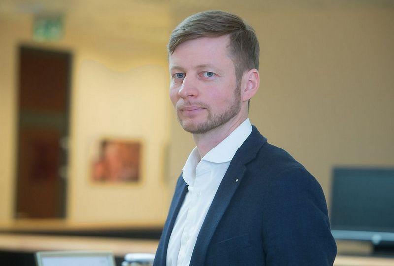 """Tomas Balžekas, UAB """"15min"""" generalinis direktorius. Juditos Grigelytės (VŽ) nuotr."""